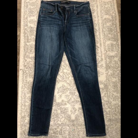 Express Midrise Stretch Skinny Jeans